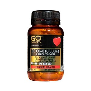 Go healthy Go Co-Q10 300mg 60 Caps