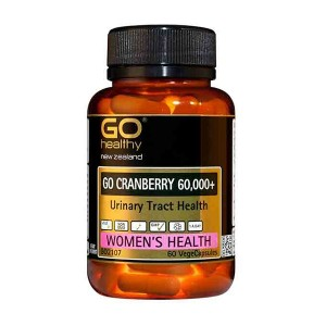 Go healthy Go Cranberry 60,000+ 60 Caps
