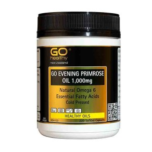Go healthy Go Evening Primrose Oil 1,000mg 220 Caps