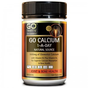 Go healthy Go Calcium 1-A-Day 120 Caps
