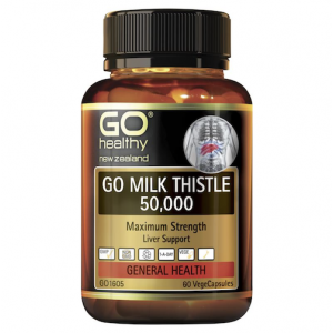 GO Healthy Milk Thistle 50000 60 VegeCapsules
