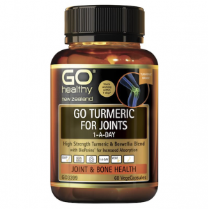 Go Healthy Turmeric for Joints 1 A Day 60 Vegetable Caps