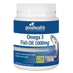 goodhealth Omega 3 Fish Oil 1000mg 400 Caps