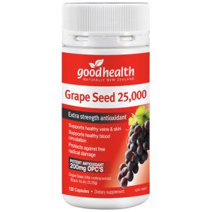 goodhealth Grape Seed 25000 120 Caps