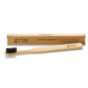 Grin Charcoal Infused Bamboo Toothbrush