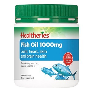 Healtheries Fish Oil 1000mg 200 Caps