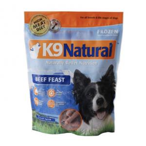 K9 Natural Dog Food Beef Feast 1kg