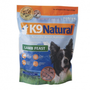 K9 Natural Dog Food Lamb Feast 1kg