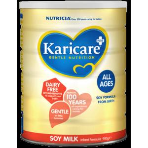 【新西兰直邮】新包装 Karicare 可瑞康SOY豆奶粉素食防过敏低敏 适合各年龄段宝宝 900g*2罐 包邮