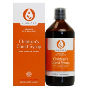 Kiwiherb Kids Chest Relief 200ml