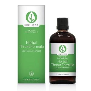 Kiwiherb Herbal Throat Formula 100ml