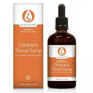 Kiwiherb Children's Throat Syrup 100ml