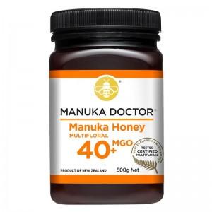 Manuka Doctor manuka honey 40+ MGO 500g