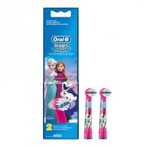 Oral-B欧乐B 儿童电动牙刷替换头(冰雪奇缘)2个装