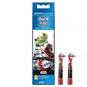 Oral-B欧乐B 儿童电动牙刷替换头(星球大战)2个装