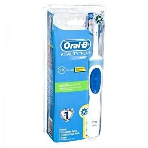 Oral-B 电动牙刷 Cross action 持久清洁型(含1充电+2刷头)【电动牙刷一支一个包裹,不能混其他保健品发】