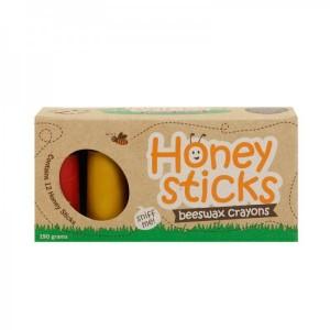 Honey Sticks纯手工天然蜂蜡笔 12色装 190g