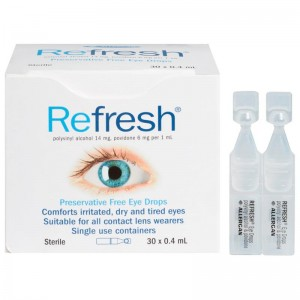 Refresh Preservative Free Eye Drops 30 x 0.4m