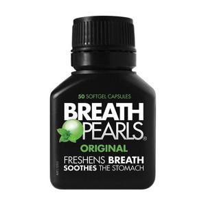 Breath Pearls 清新口气 软胶囊 香口丸 50粒 去口臭排胀