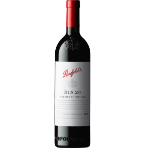【包邮】奔富BIN28卡丽娜西拉干红葡萄酒 750ml  2016  14.5%VOL 一个地址赠一个开瓶器