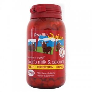 Pro-life 儿童加钙羊奶咀嚼片500片