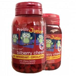 Pro-life 儿童蓝莓越橘莓护眼片 护眼精华240粒