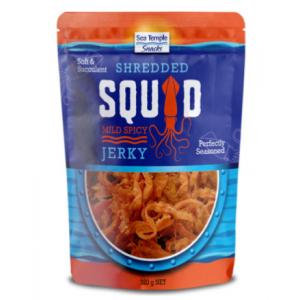 sea temple snacks squid jerky 320g