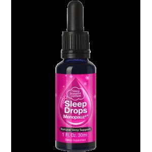 【送蚕丝眼罩】SleepDrops 天然草本更年期助睡眠滴剂 30ml