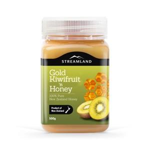 新西兰STREAMLAND新溪岛奇异果蜂蜜500g
