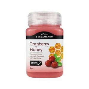 【临期特价】新西兰STREAMLAND新溪岛蔓越莓蜂蜜500g保质期2019.11