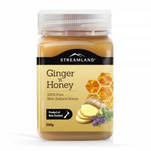 新西兰STREAMLAND新溪岛生姜蜂蜜 500g