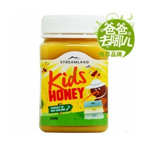 新西兰STREAMLAND新溪岛儿童蜂蜜 500g