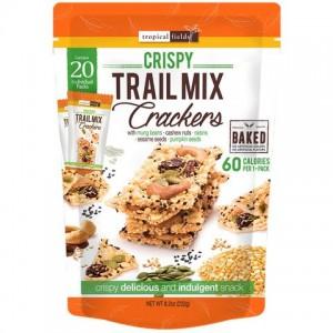 Tropical Fields Crispy Trail Mix Crackers 232g
