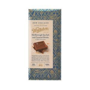 Whittakers 惠特克 33%可可 马尔堡海盐焦糖牛奶巧克力巧克力 100克