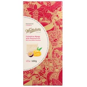 Whittakers 惠特克 28%可可 哥伦比亚芒果 百香果 白巧克力100克