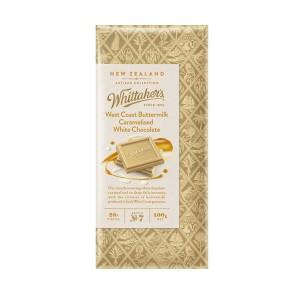 Whittakers 惠特克 28%可可 牛奶黄油白巧克力100克