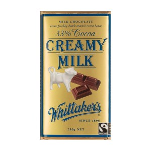 Whittakers 惠特克 33%可可 奶油巧克力 250克