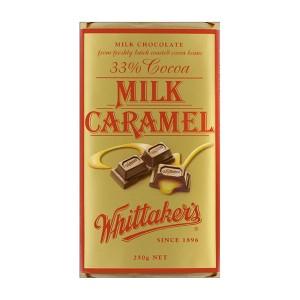 Whittakers 惠特克 33%可可 奶油焦糖巧克力 250克