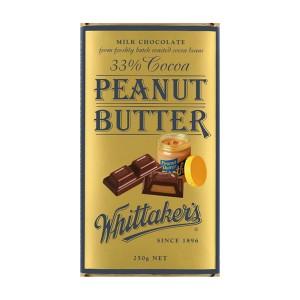 Whittakers 惠特克 33%可可 花生酱巧克力 250克